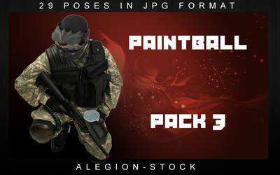 Paintball model pack 3
