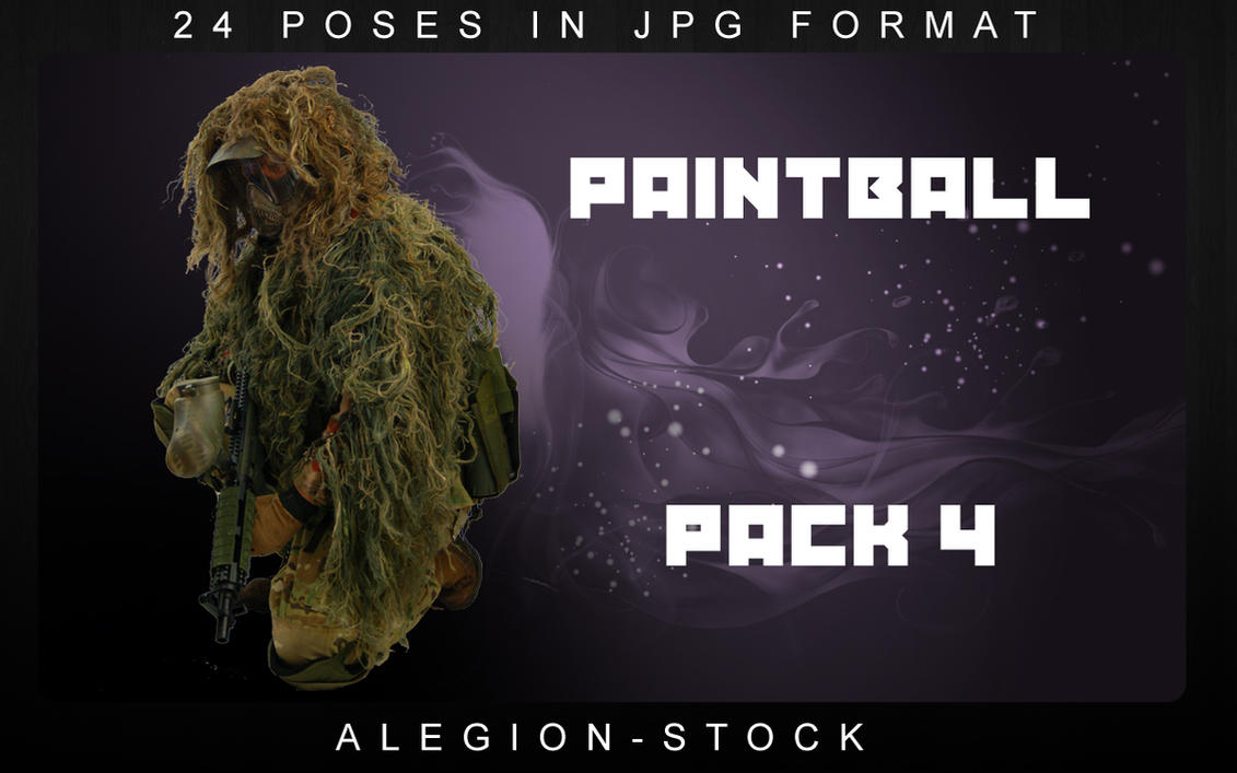 Paintball model pack 4 by Alegion-stock