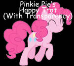 Pinkie Pie Happy Trot Animated GIF
