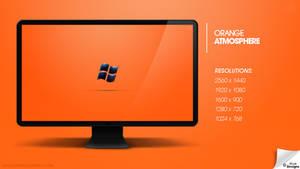 Orange Atmosphere - Windows Wallpaper