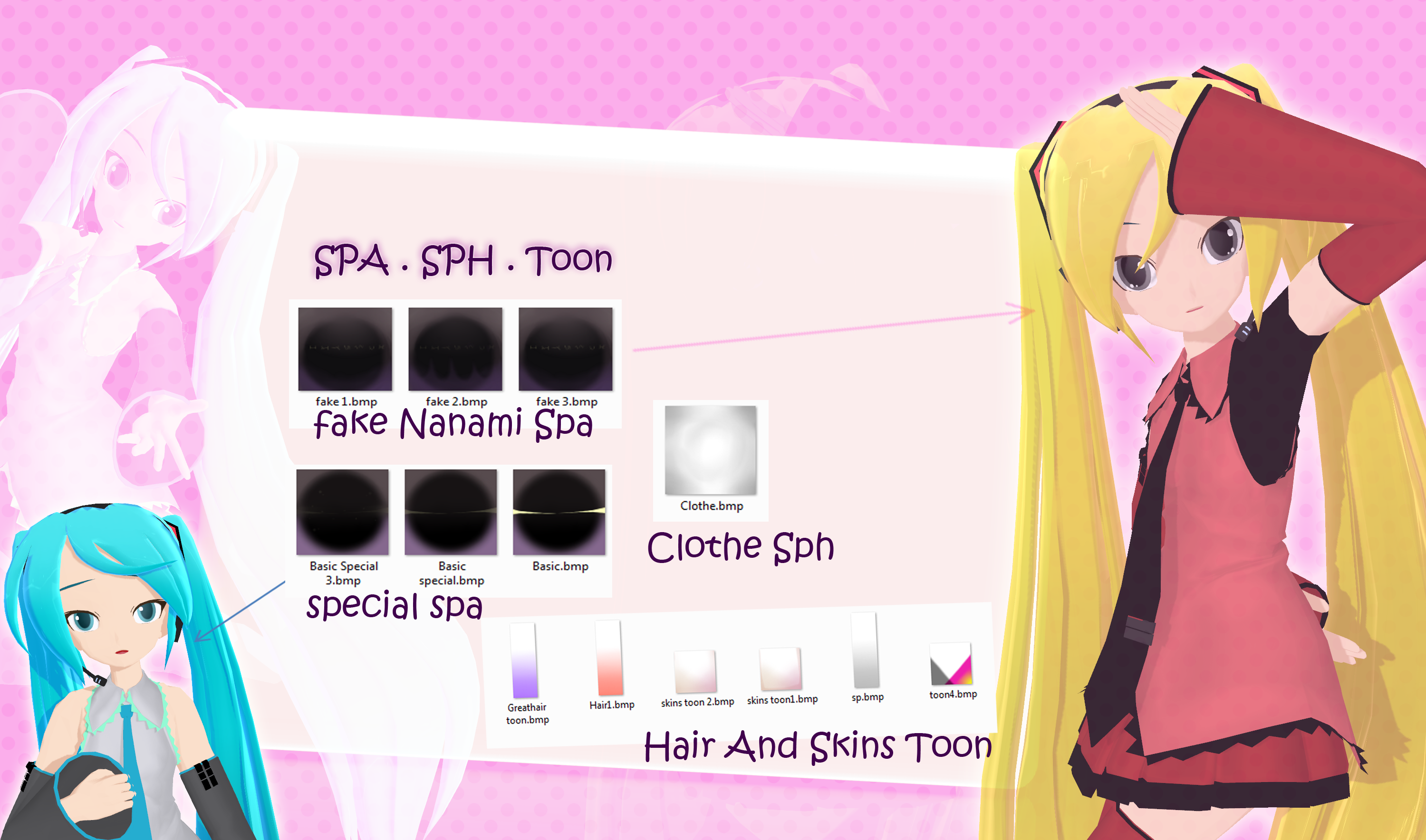 [MMD] Toon Spa Sph .:Download:. by AceYoen