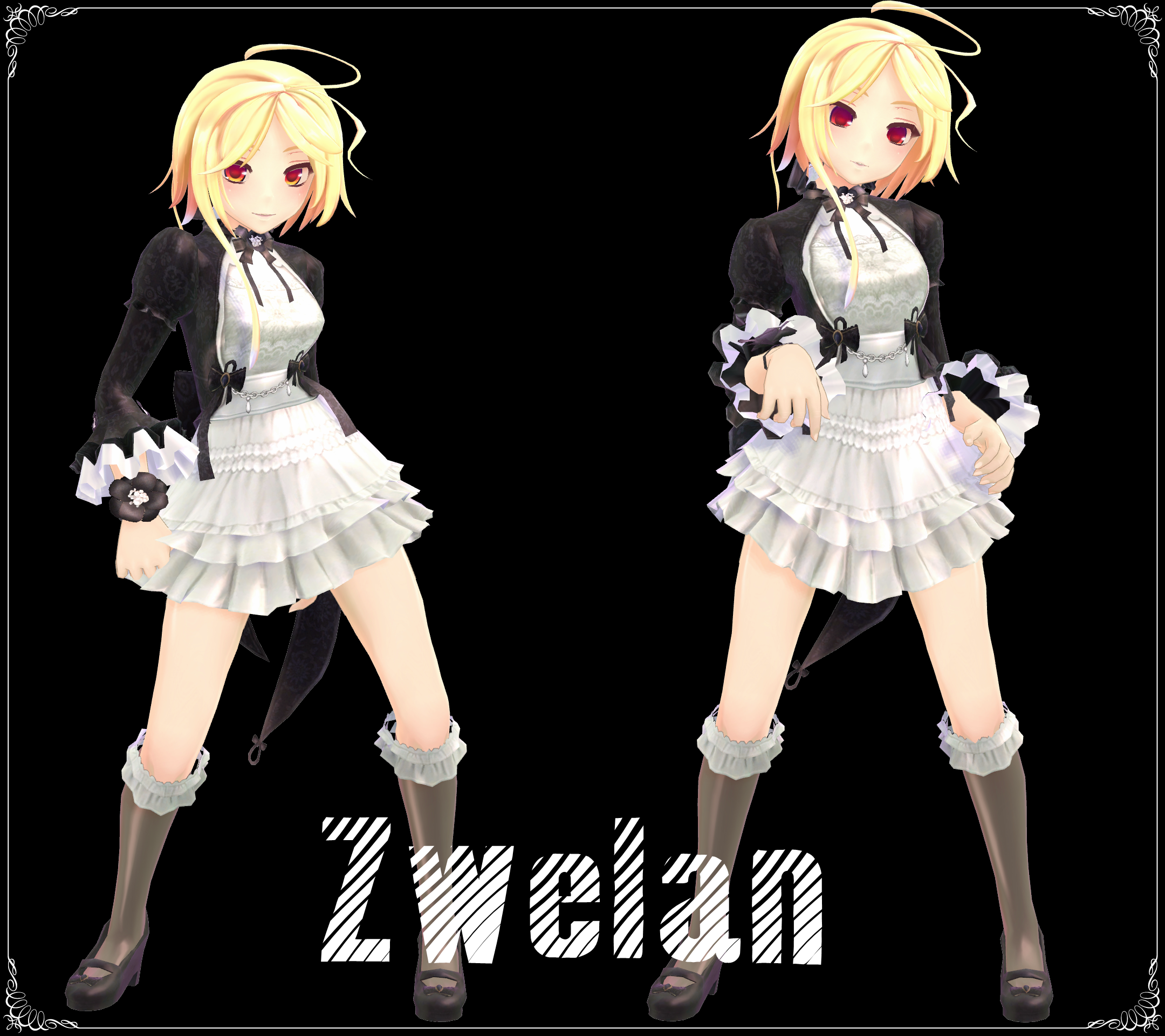 [MMD] Zwelan Model Download By AceYoen On DeviantArt