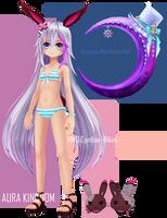 MMD Cynthia -Bikini- DL by AceYoen