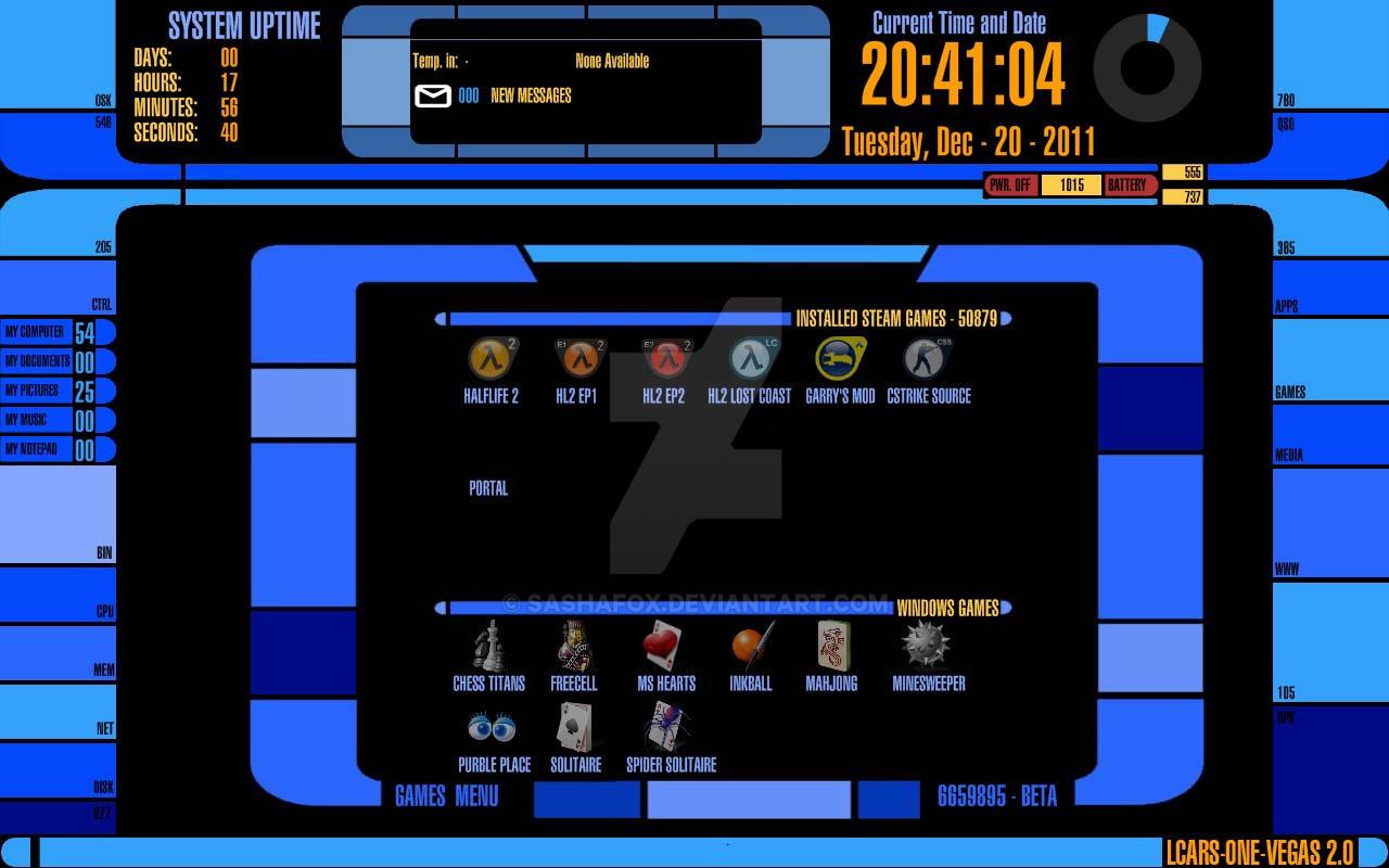 Lcars Screensaver Vista - sevenforever