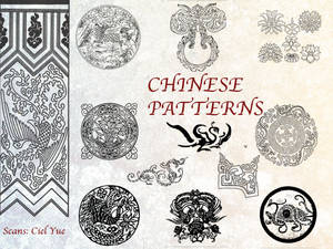 35 Chinese Patterns Pack