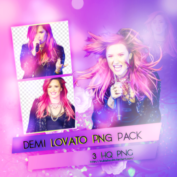 Demi Lovato Png Pack by SuBiebs