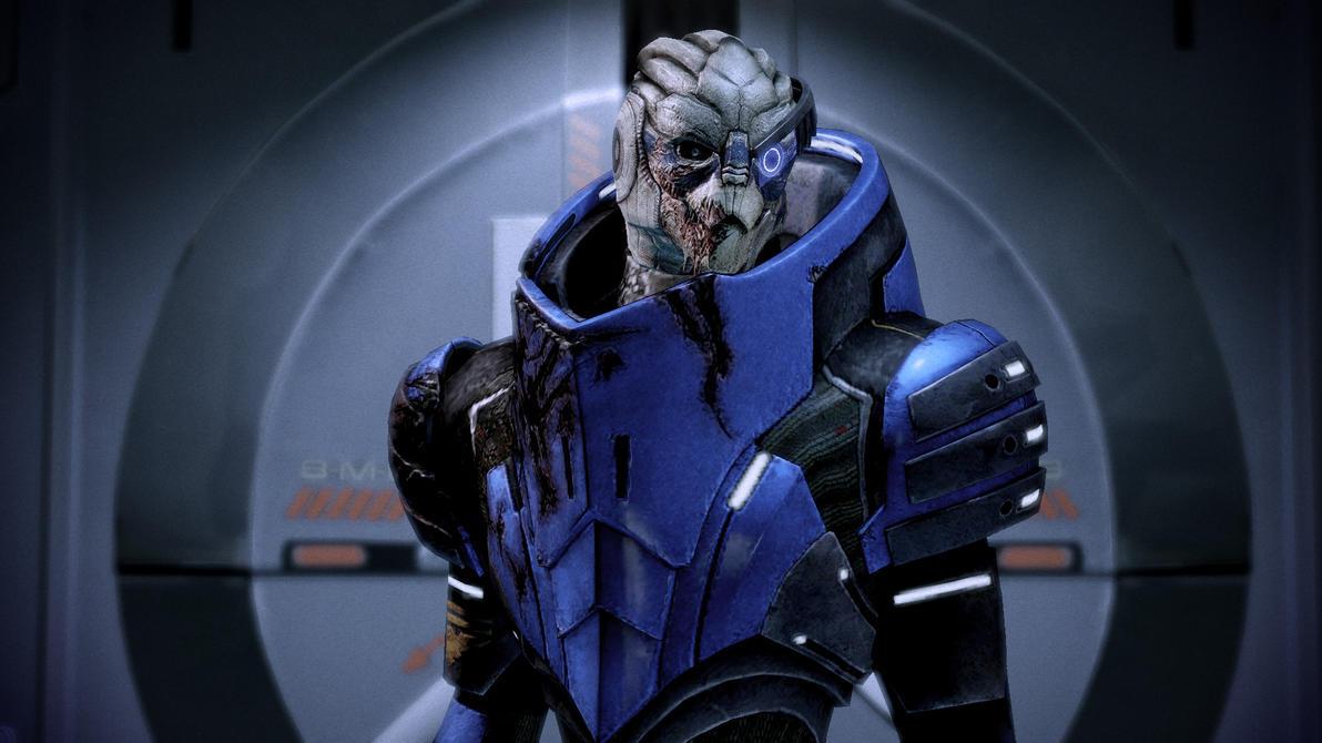 Mass Effect Concept Art Turian Olivero