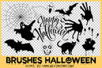Brushes | Happy Halloween