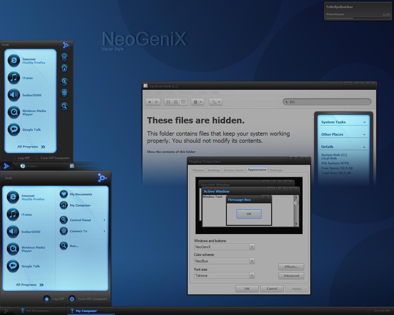 NeoGeniX by dobee