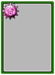 Blank TCG card