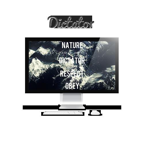 Dictator by Mushcube