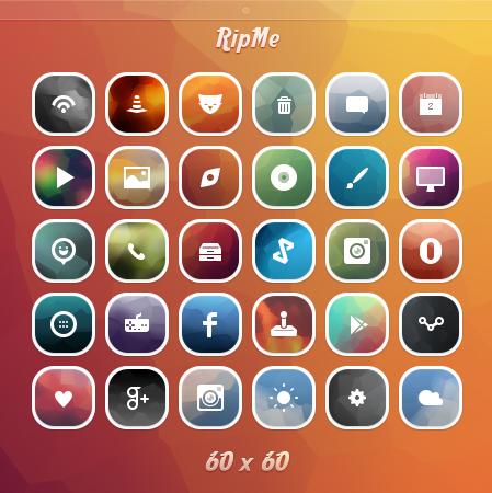 RipMe Icons by Mushcube