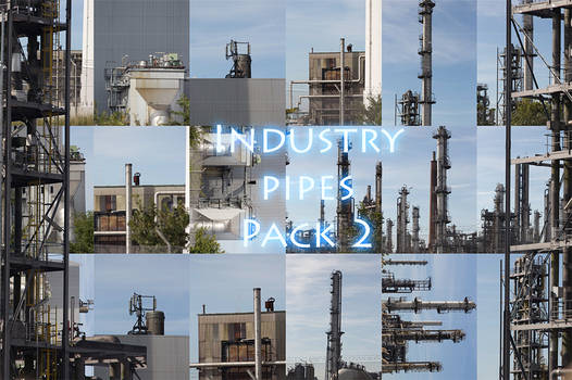 Industry pipes Pack 2