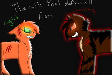 the will that defines all right from wrong by X-CoyoteFeathers-X