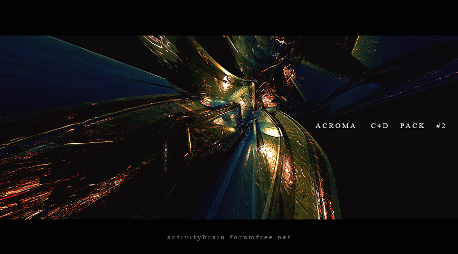 Acroma C4D Pack 2 by Son-Baby