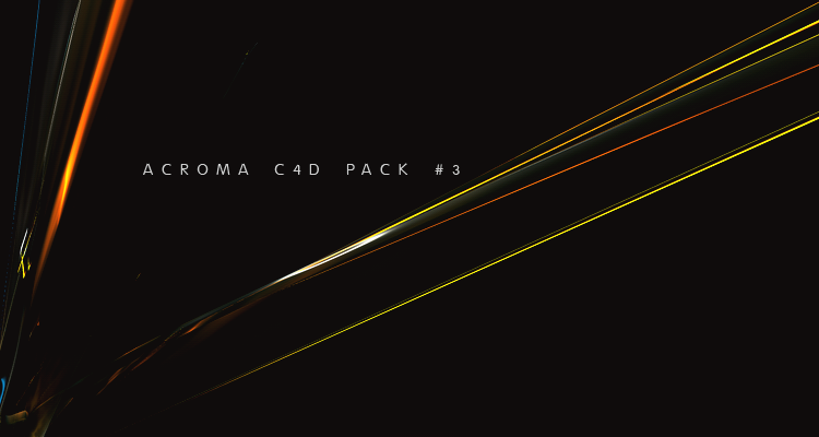 Acroma C4D Pack N3 by Son-Baby