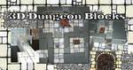 3D Dungeon Blocks prototype