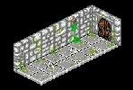 Dungeon Corridor -Iso-pixel by billiambabble