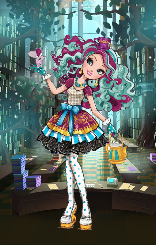 Ever After High - Madeline Hatter by lonelystarlight