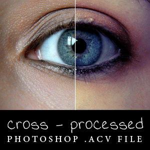 Cross-process - Photoshop .acv