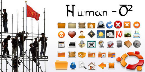 Human-O2 - Iconset