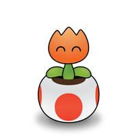 Silly Fire Flower by Humdeedum233