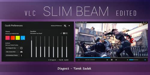 VLC - Slim Beam - Black Skin Edited By Diagoo1