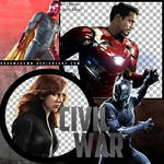 CIVIL WAR: TEAM IRON MAN PNG PACK