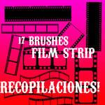 film strip brushes