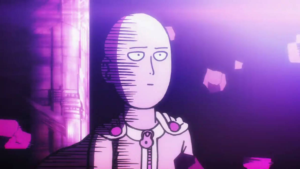 One Punch Man Saitama The Face Of Indifference By Whiteshadow