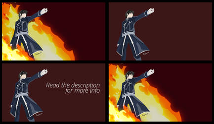 [Wallpaper Pack] Roy Mustang - FMA by Hespen