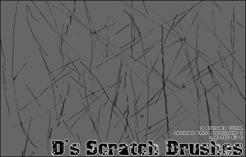 Scratch brushes set 1