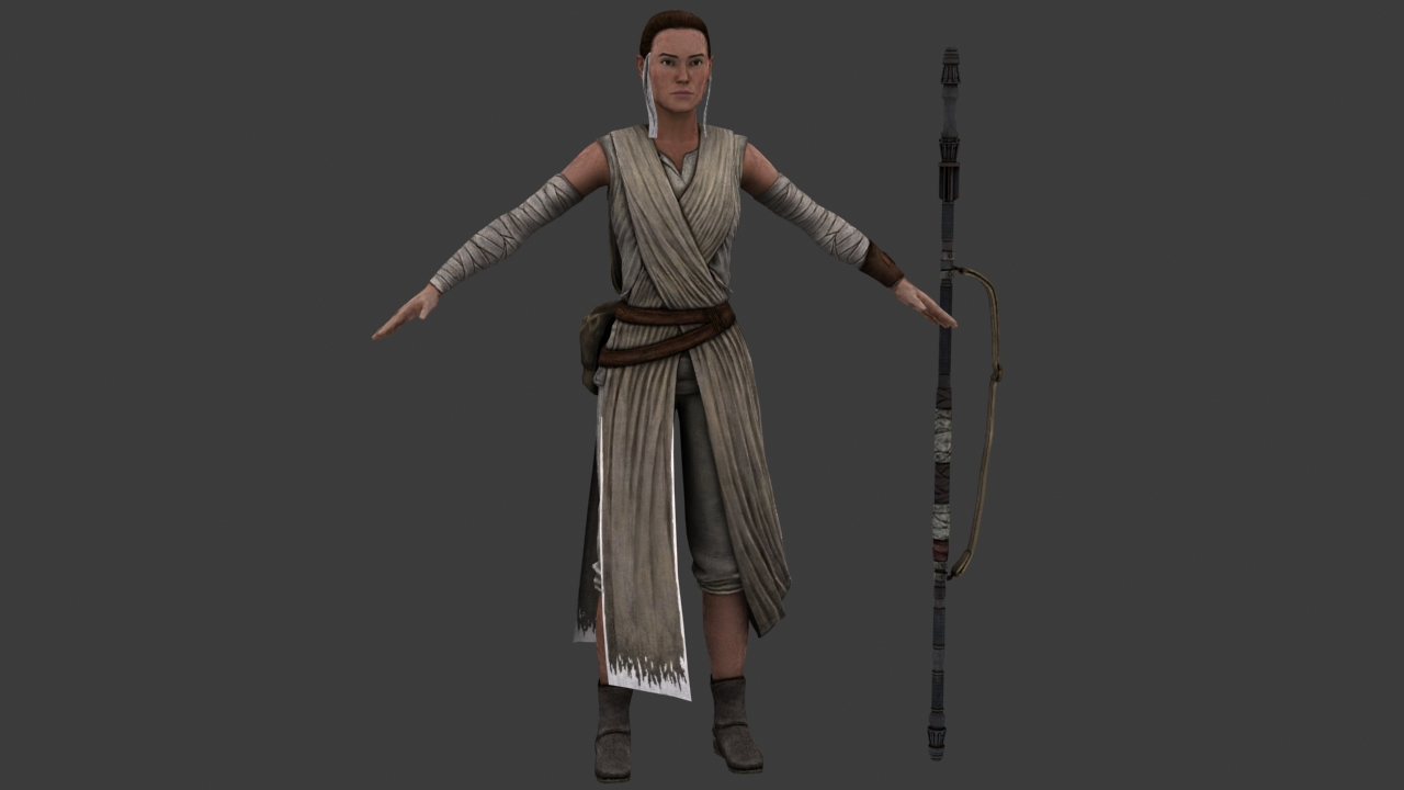 Lucasfilm: Rey and Kylo Ren Are Related