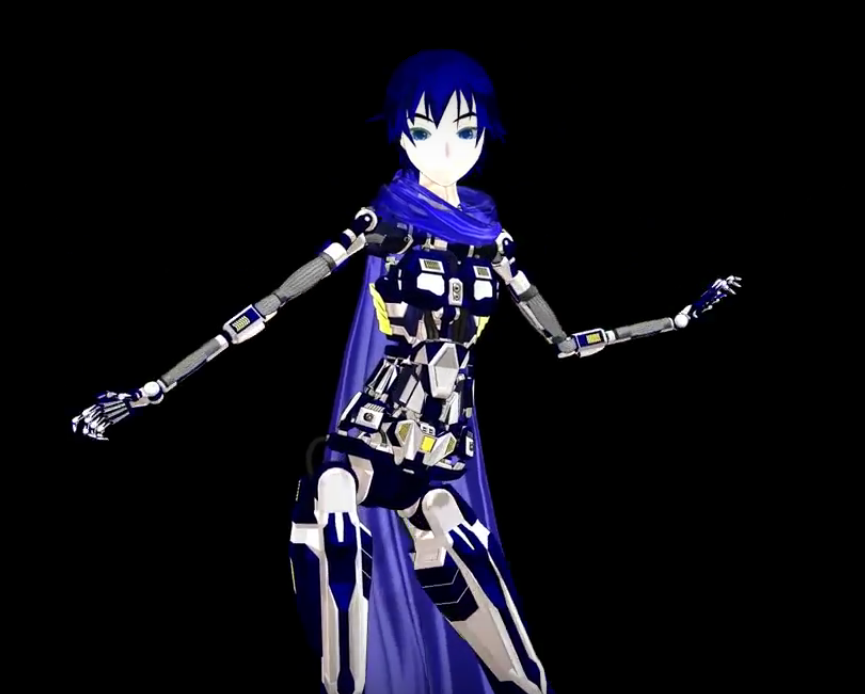 DT 2nd Cyber Cat Kaito by MMD-francis-co on DeviantArt