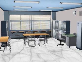 Interactive MMD School Club Room Stage 1.01 (DL)