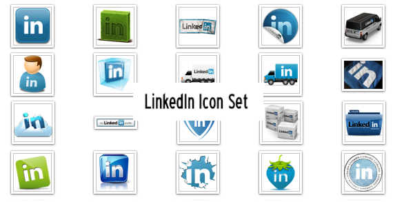 LinkedIn Icons - Free by someic