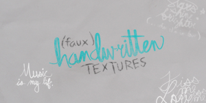 Faux Handwriting