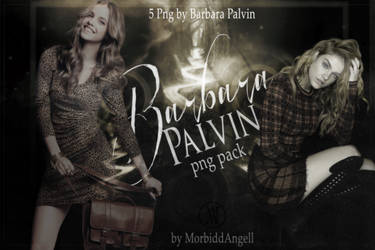 Barbara Palvin Png Pack by MorbiddAngell