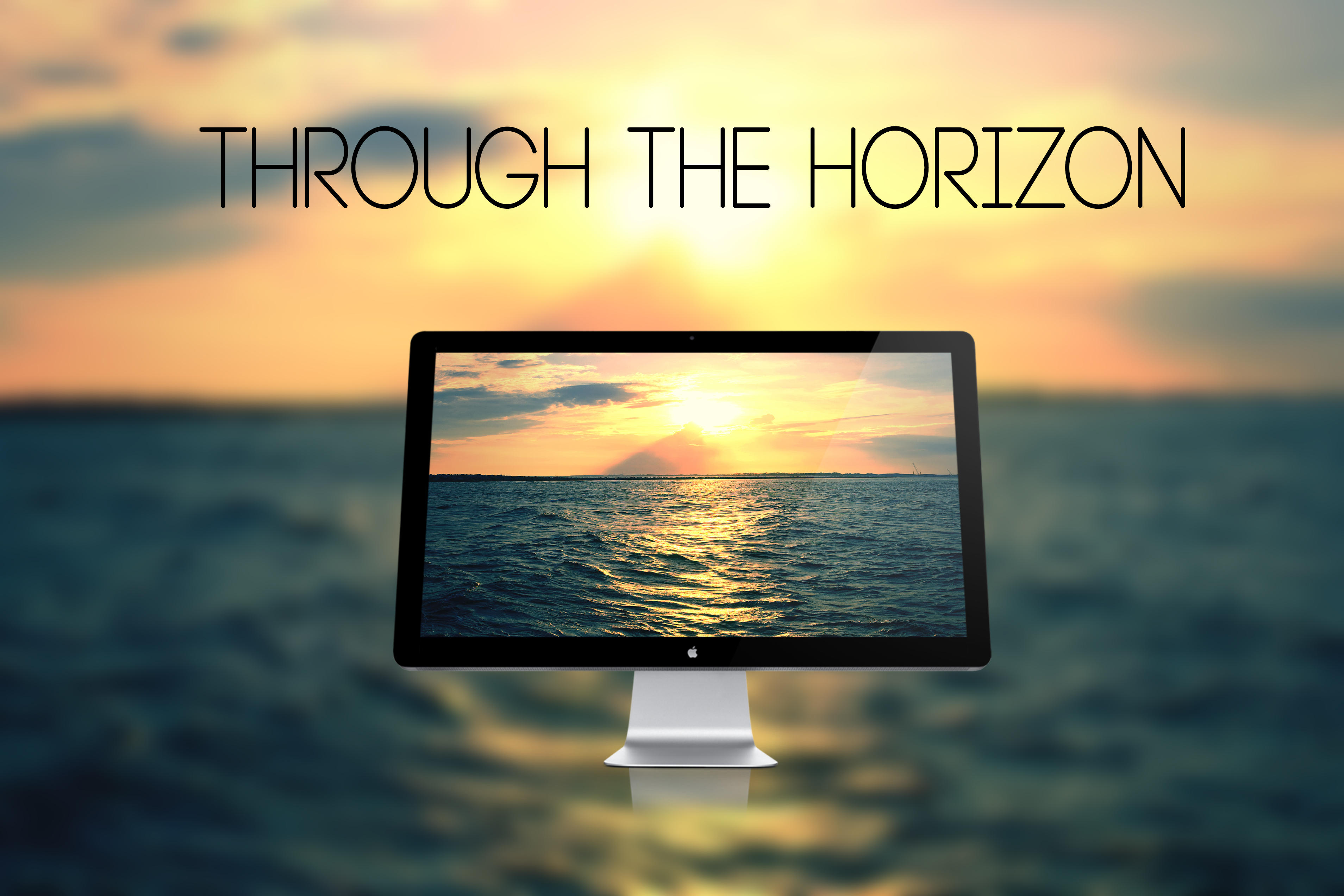 Through the horizon - Wallpaper by Hercules1997