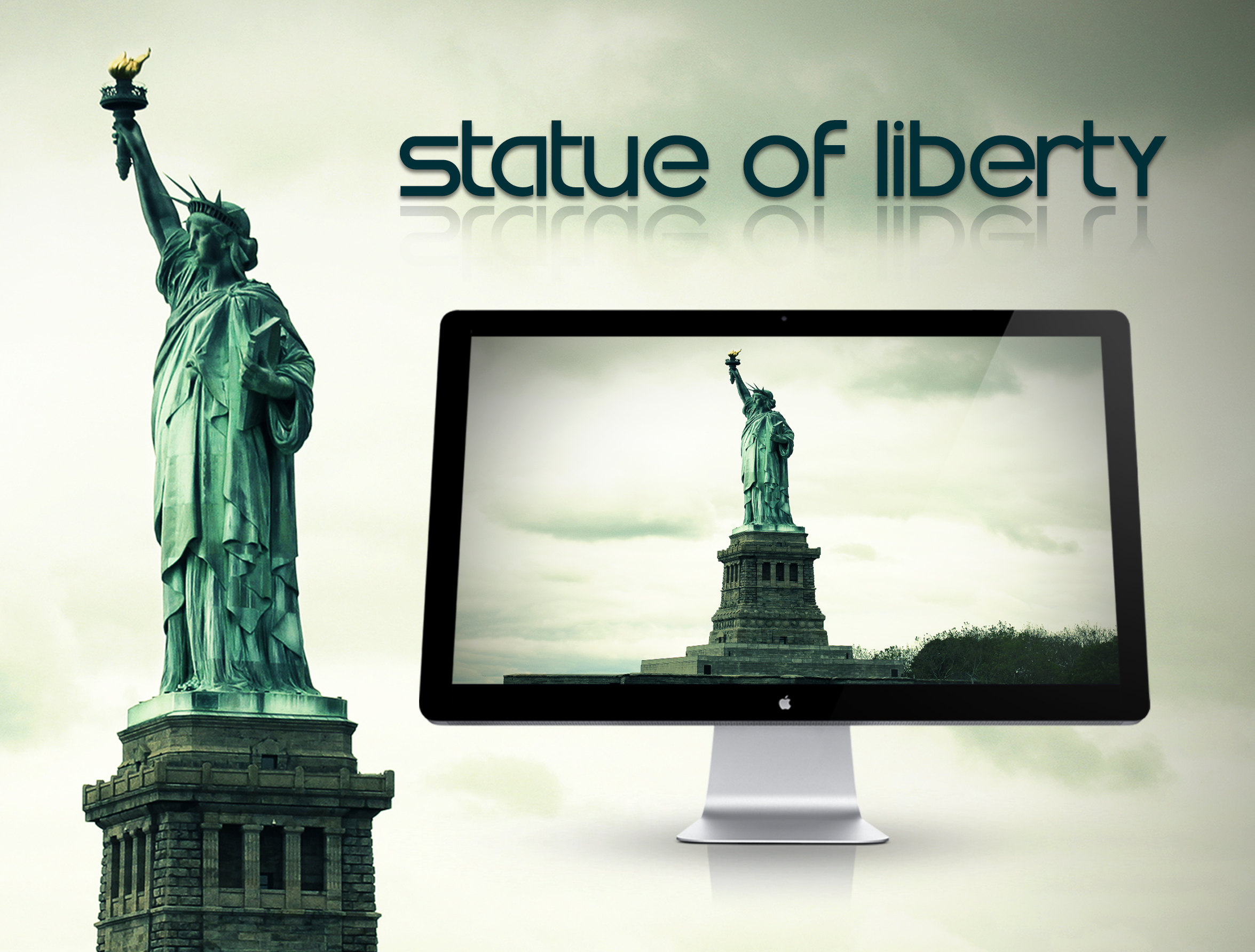 Statue Of Liberty Wallpaper By Hercules1997 On Deviantart