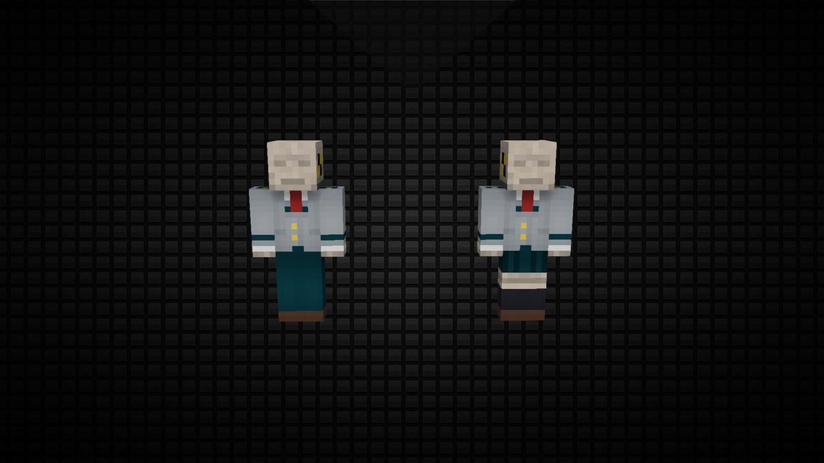 Minecraft School Uniform Skin Base Pack by 3xc4l1bur