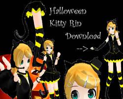 MMD Newcomer-Halloween Rin DL by KeroChiChan