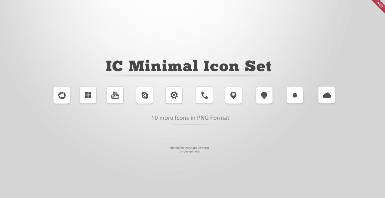 IC Minimal Icon Set Batch 2 by cjosh