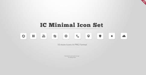 IC Minimal Icon Set Batch 2 by cjosh