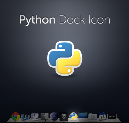 Python Dock Icon by macduy