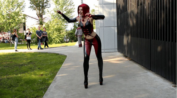 Anya iChios as Rayne (BloodRayne): Animation 11