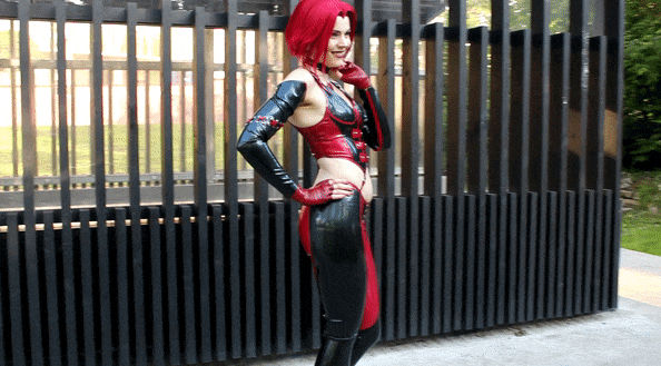 Anya iChios as Rayne (BloodRayne): Animation 13