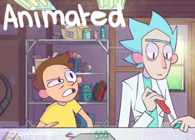 Rick and Morty Fan Animation