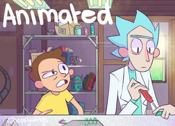 Rick and Morty Fan Animation by Choppywings