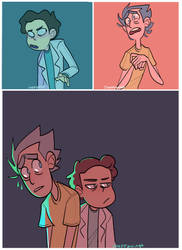 Switcharoooo (Rick and Morty) by Choppywings
